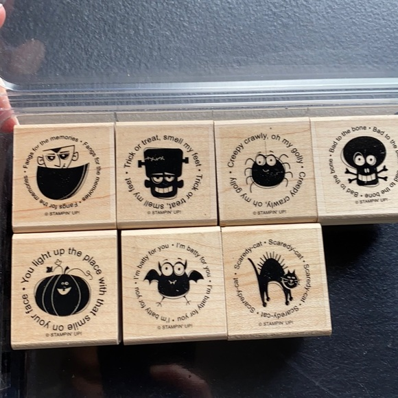 7 Stampn' Up Halloween Stamps!